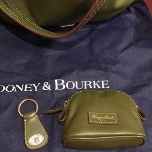Dooney & Bourke Bags - Dooney & Bourke TEAGAN olive green bag + extras